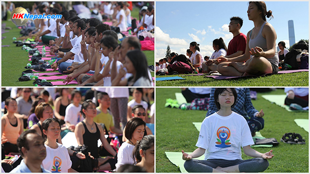 भारतीय दूतावास हङकङद्वारा आयोजित अन्तर्राष्ट्रिय योगा सम्मेलन (लाइभ भिडियोसहित)