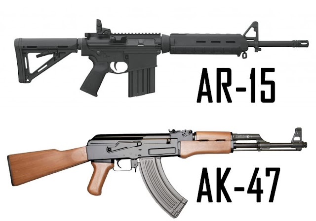 Which one is great for battle? AR-15 or AK-47