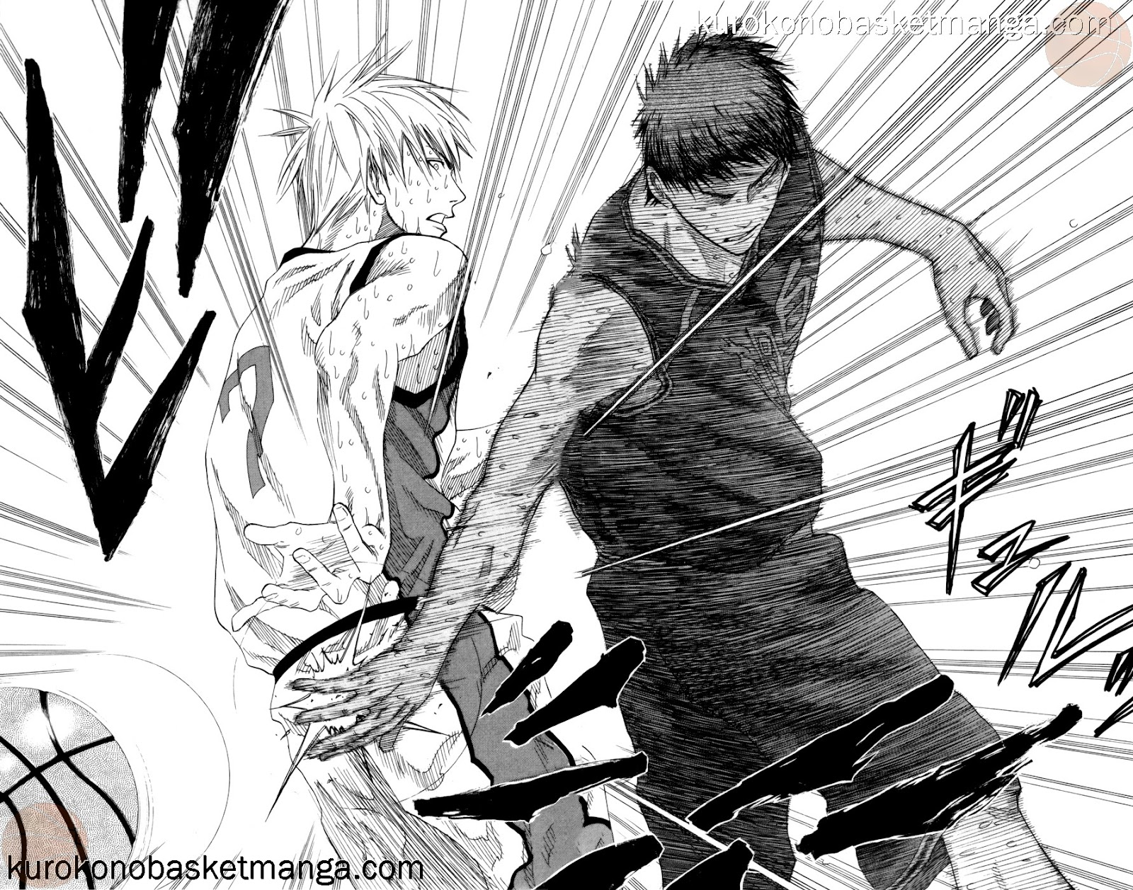 Kuroko no Basket Manga Chapter 72 - Image 08-09