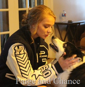 Paige and Chance Letter Jacket