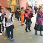 Het 2de leerjaar viert Halloween