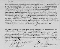 Oorschot, Maria Geertruida Geboorteakte 02-12-1842 Kralingen.jpg