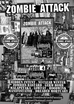 ZOMBIE ATTACK FANZINE ISSUE 4 OUTNOW
