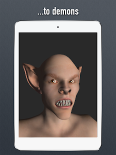 Face Model - 3D virtual human head pose tool- screenshot thumbnail