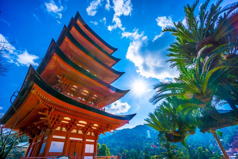 itsukushima shrine five story pagpda2