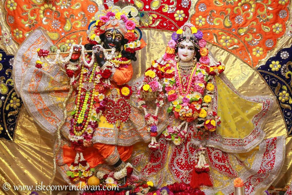 ISKCON Vrindavan Sringar Deity Darshan 12 Mar 2016 (13)