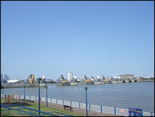 Thames Barrier and O2 London