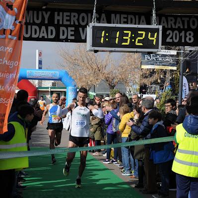 Media Maratón de Valdepeñas 2018 - Llegada