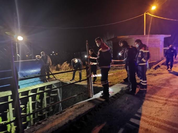 Έκτακτο Ημαθία - Αυτοκίνητο έπεσε σε αρδευτικό κανάλι στην Ραψωμανικη στην Ημαθία