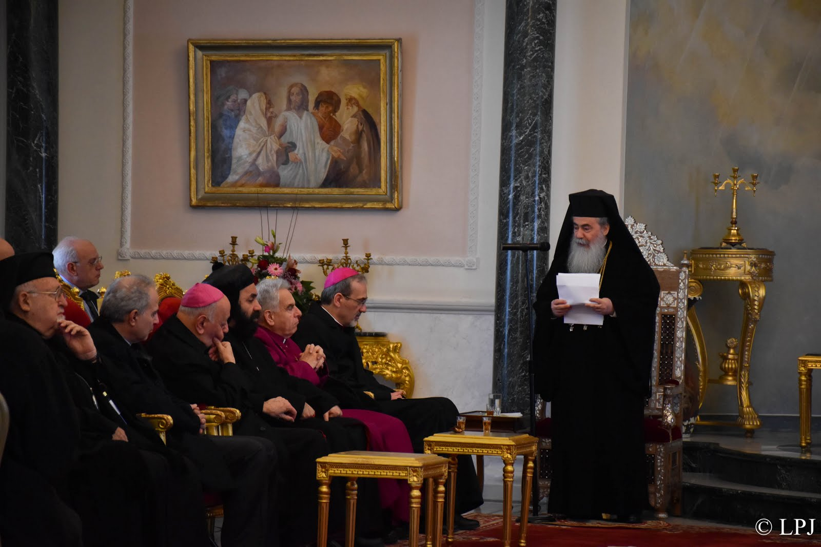 Heads Of Local Churches Present Christmas Greetings At Greek