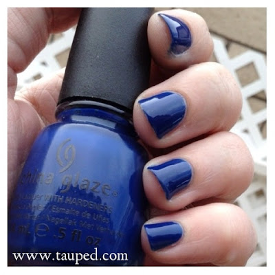 china glaze man hunt swatch review