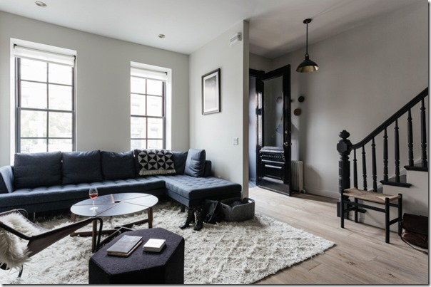 case e interni - stile scandinavo a new york - colore grigio - blu (10)