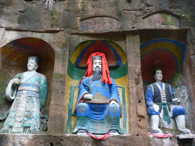 CHINE.SICHUAN.PING LE à 2 heures de Chengdu. Ravissant .Vallée des bambous - P1070628.JPG