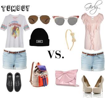 Tomboy vs girly girl