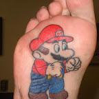 super mario bros - tattoos ideas
