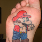 super mario bros - tattoos ideas