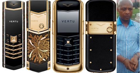10 Things You Need To Know About Nigeria's Billionaire Kidnappers Evans' ₦3.6Million Vertu Phones (With Pictures)
