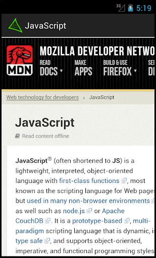 JavaScript 1.2.0 screenshots 3