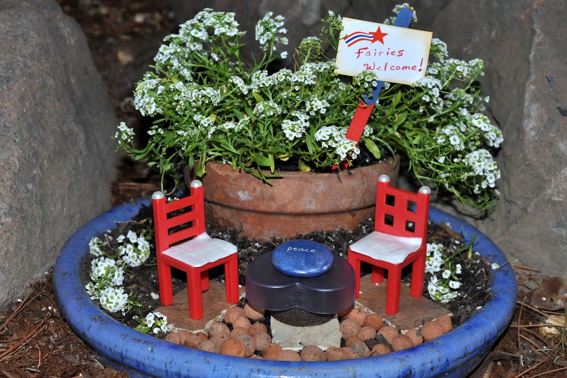 Fairy Garden: Ready to Celebrate