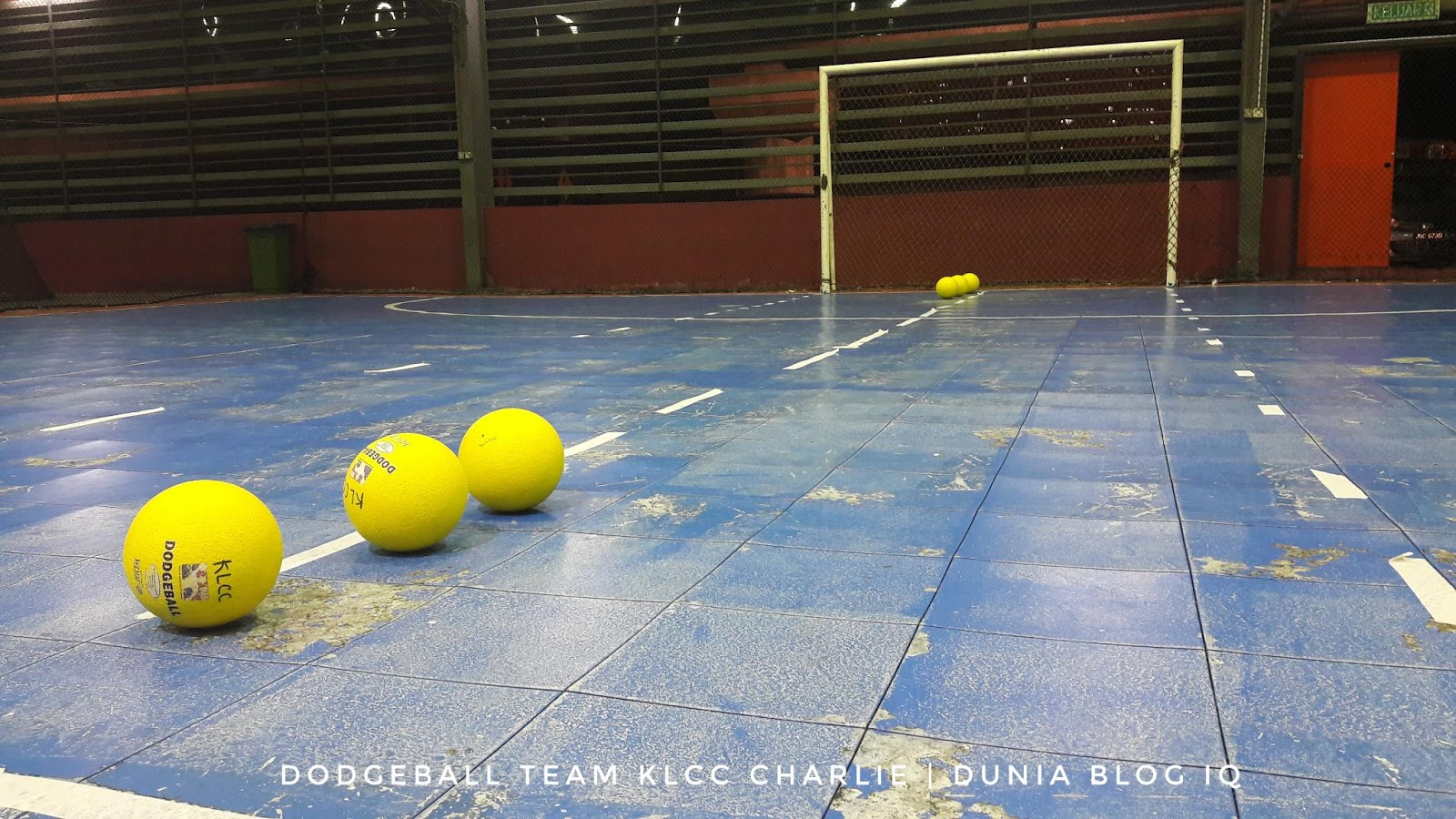 Dodgeball Penat Tapi Enjoy! - 1st Week JK1M Team KLCC Charlie