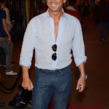 WWW.ENTSIMAGES.COM -  Bruno Tonioli  at    WAG! The Musical - press night at Charing Cross Theatre, The Arches, Villiers Street, London July 24th 2013                                                 Photo Mobis Photos/OIC 0203 174 1069