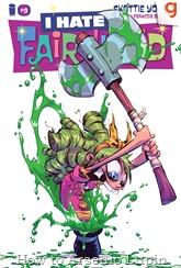 Actualización 25/09/2016: Se actualiza I hate Fairyland con el número 9 por Tarkux y R.Richards de G-Comics. Gert se mete en problemas de apuestas con un mago oscuro, y debe abrirse camino por el sombrero de Larry para buscar lo que el mago quiere, pero después de años sin que el sombrero haya sido lavado, puede que su búsqueda no sea tan fácil.