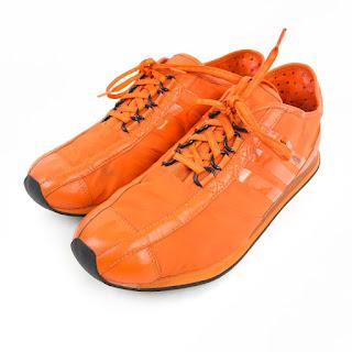 Y-3 Yohji Yamamoto x Adidas Orange Sneakers