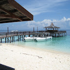 Jetty at Sipadan island
