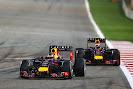 Sebastian Vettel VS Daniel Ricciardo, Red Bull RB10