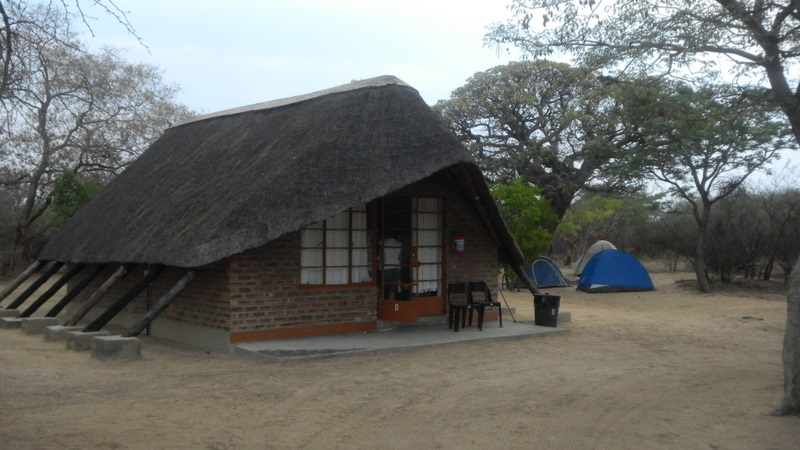 Our Chalet at the Khama Rhino Sanctuary