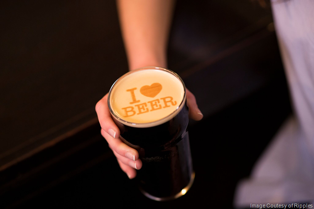 Ripples Introduces Personalized Beer Foam