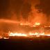Wildfires spread across the Greece