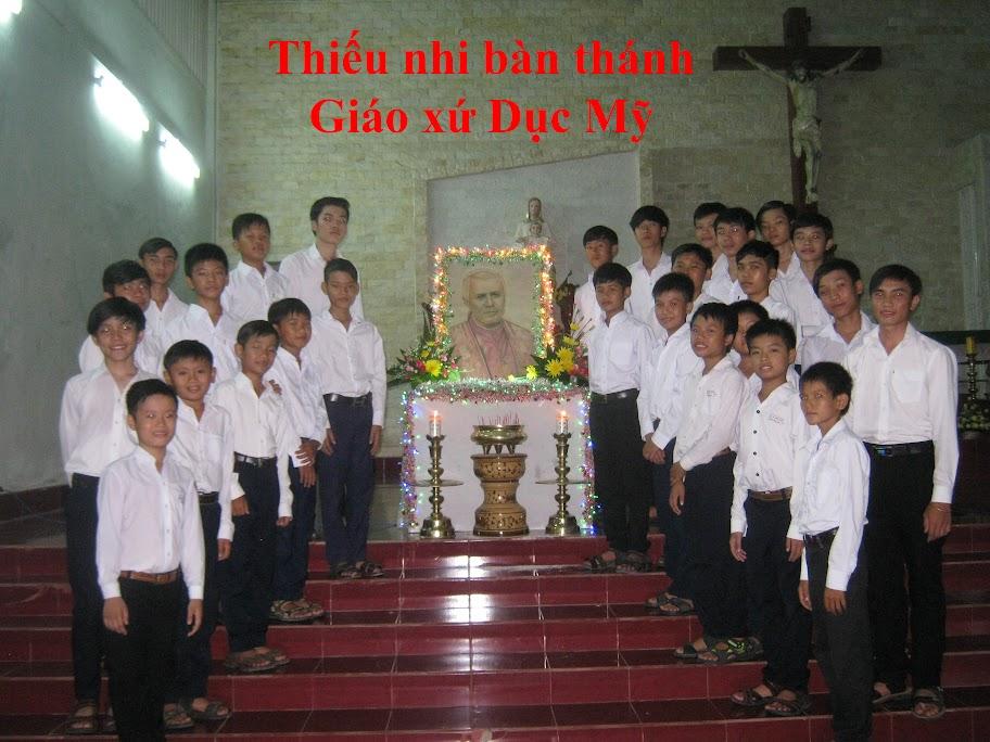 Lễ sinh giáo xứ Dục Mỹ mừng bổn mạng thánh Giáo hoàng Piô X