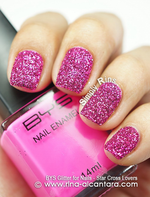 BYS Glitter for Nails - Star Cross Lovers