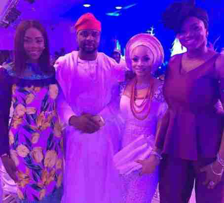 Mo Abudu, Tiwa Savage, Waje, Debola Williams, Ebuka, Others At Toke Makinwa's Sister's Wedding (Photos)