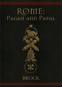 Cover of Mourant Brock's Book Rome Pagan and Papal