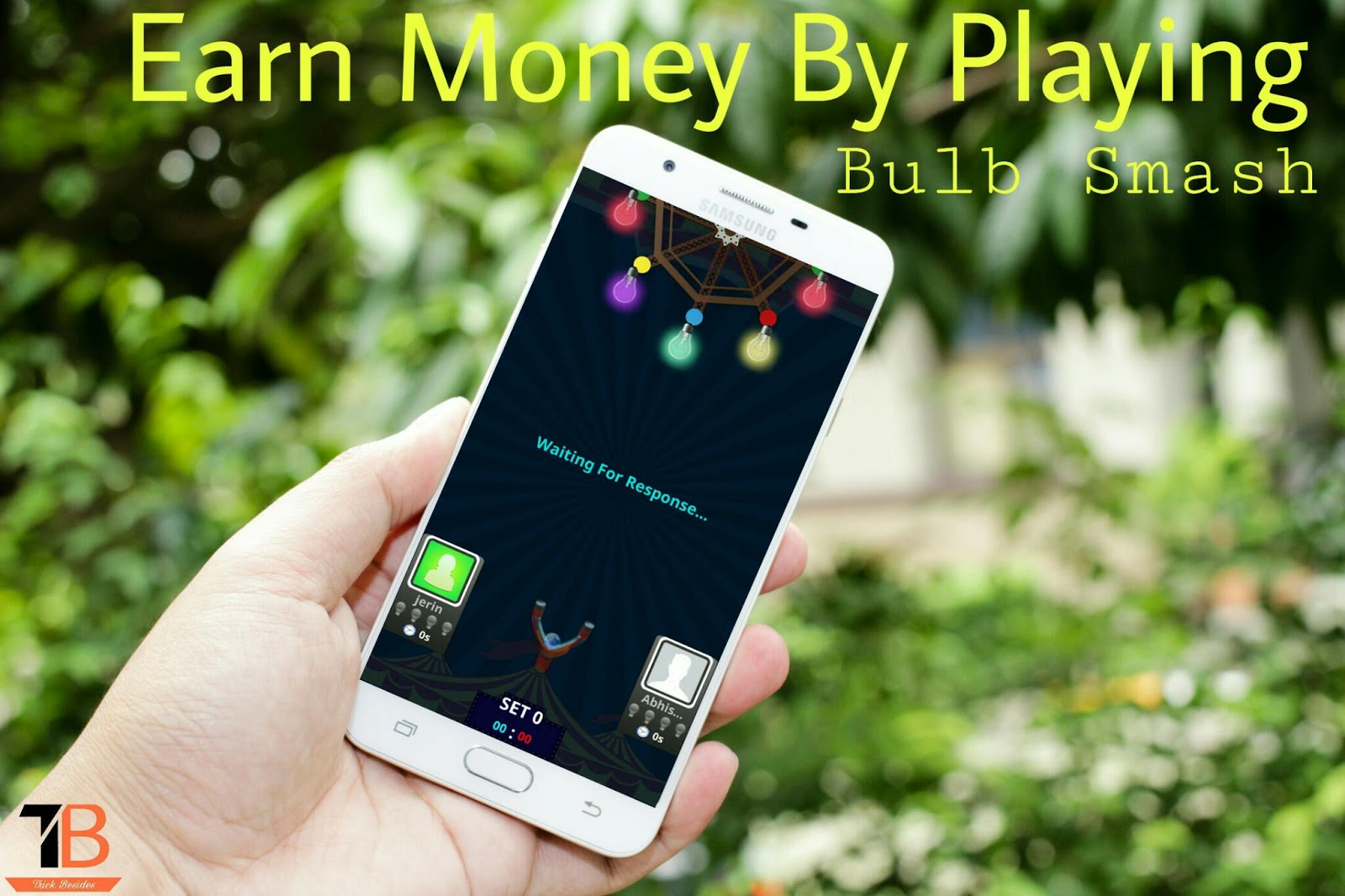 Earn Money by Playing Bulb Smash Game : Proof Added