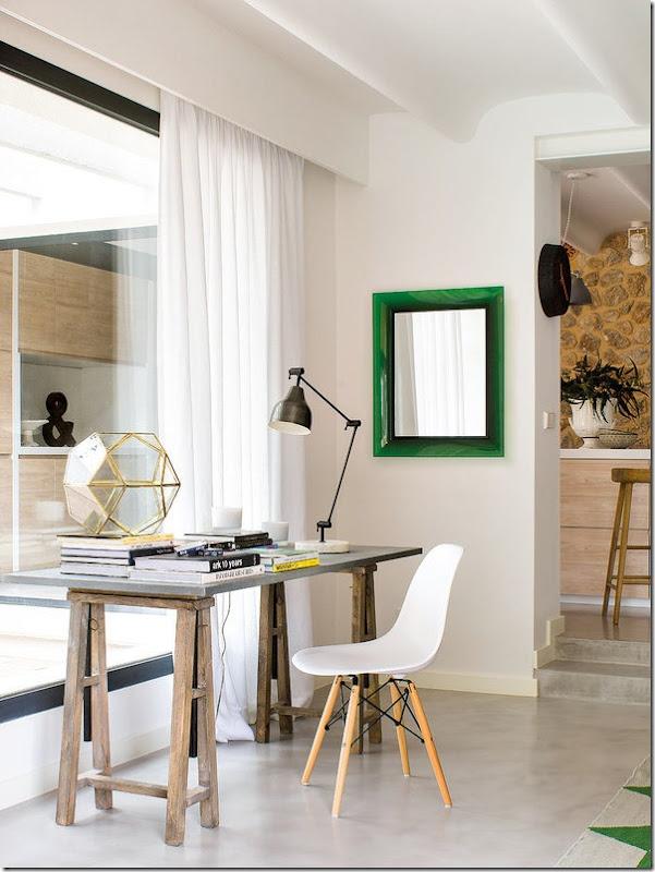 Colori freschi e stile retro chic case e interni - Colori per casa interni ...