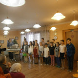 Vystoupení žáků 4.C v Domově důchodců