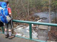 A project to treat the stream water