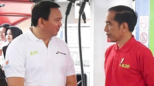Foto: BasukiTjahaja Purnama dan Presiden Jokowi. Bila Pertamina Kaya, Pemerintah Kaya, Rakyat Pasti Kaya.