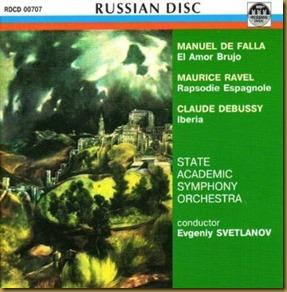 Ravel Rapsodia Svetlanov