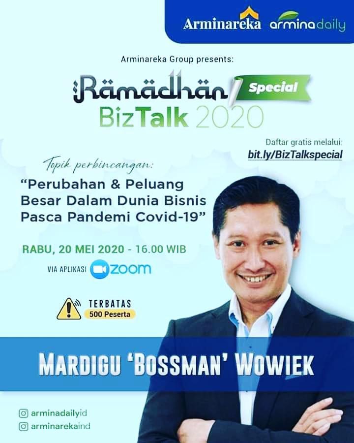 Ramadhan Special Biztalk 2020 bersama Mardigu Bossman