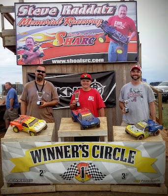 4WD SCT Mod 1st: Tyler Schrimsher 2nd: David Harris 3rd: Chris Jones TQ: Randy Carter Jr.
