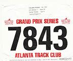 ATC Hearts and Soles 5K Race Bib
