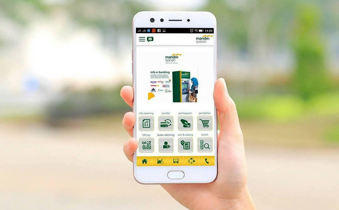 Cara Transfer Antar Bank menggunakan Mobile Banking Mandiri Syariah Mobile