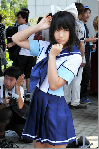 loveplus cosplay - takane manaka 3 from summer comiket 2011