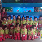 Field Trip to Aquarium by Nursery Afternoon Section at Witty World, Chikoowadi (2017-18)