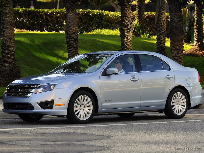 2010 ford fusion hybrid sedan specifications pictures prices. Black Bedroom Furniture Sets. Home Design Ideas