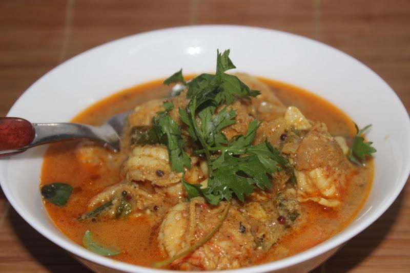 Prawn curry2